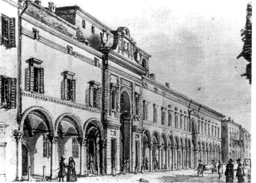 Ospedale Vecchio: Portale neoclassico